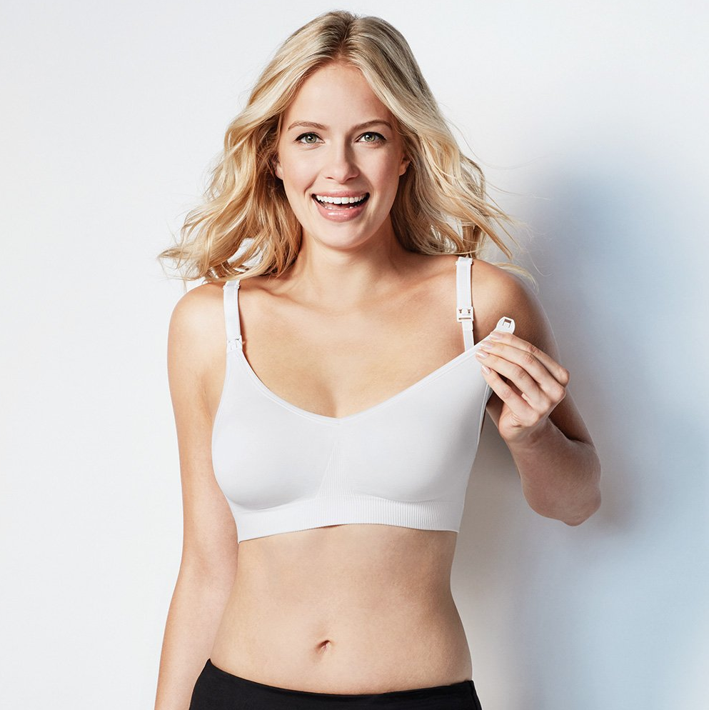 Bravado Silk Seamless Nursing Bra White