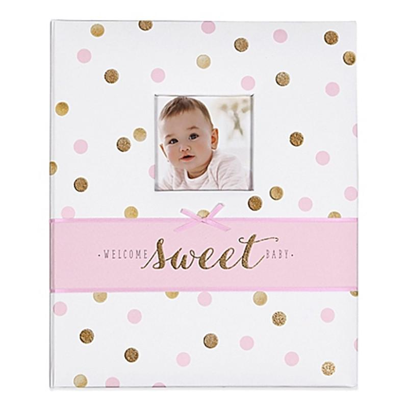 c.r.gibson carter's sweet sparkle memory book - CanaBee Baby