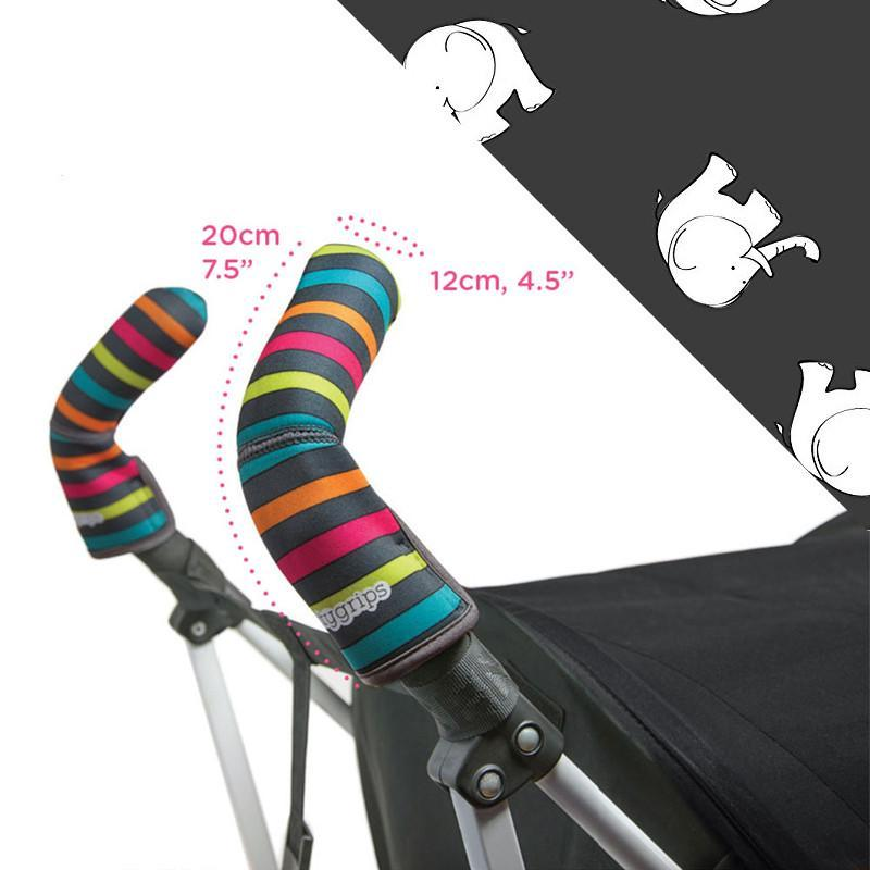 Choopie CityGrips Double Bar - Grey Elephant - CanaBee Baby