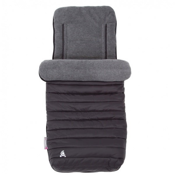 CuddleCo Comfi-Snug 2in1 Footmuff&Liner Liquorice Black