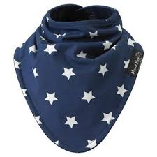 Mum2mum Fashion Bandana Wonder Bib Navy Star