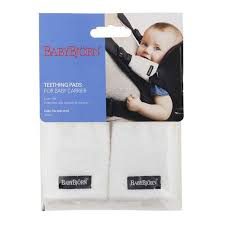 Baby Bjorn Teething Pads - White