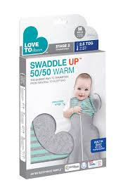 Love to Dream Swaddle Up Winter Warm Mint 50/50