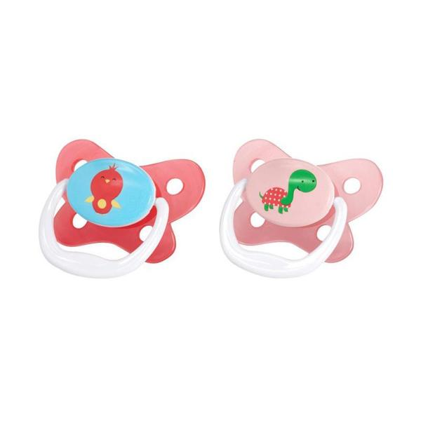 Dr Brown's Prevent Butterfly Pacifier  12m+ 2pk - Assorted