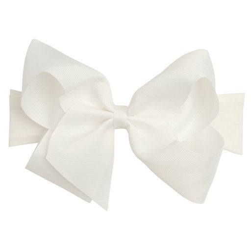 Elegantbaby Headband Med Bow White 9660