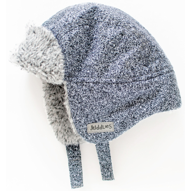 Juddlies Winter Hats Salt&Pepper Grey