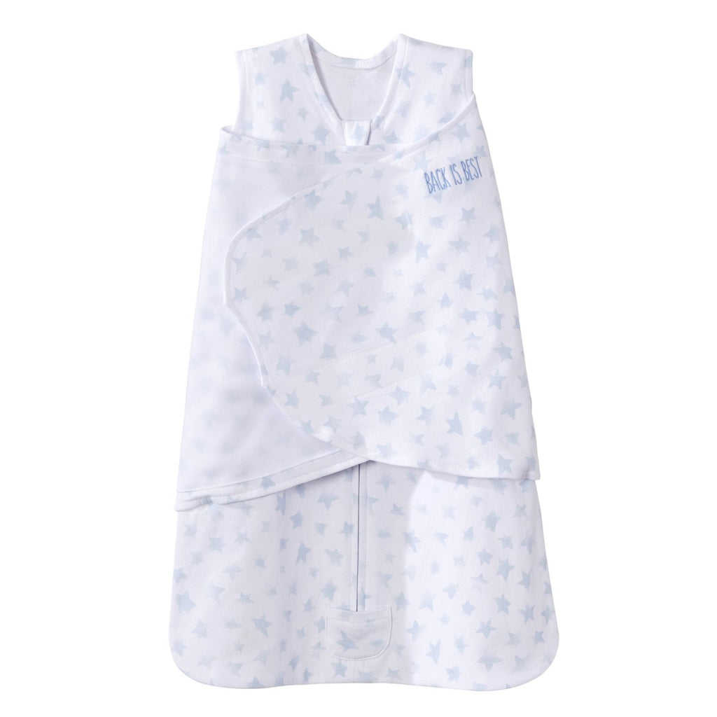 Halo SleepSack Swaddle Platinum- Twinkle Pale Blue