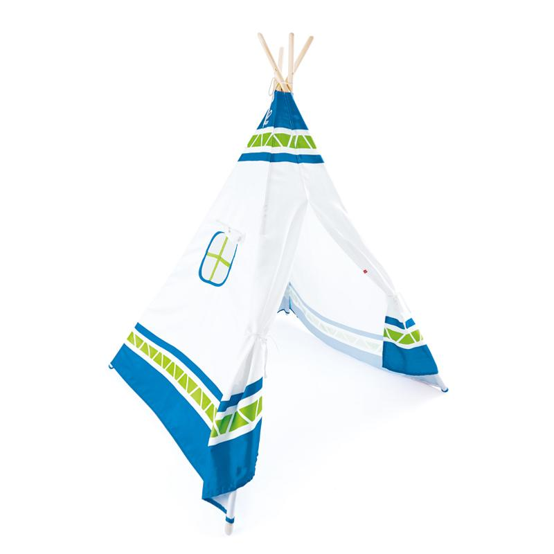 Hape Teepee Tent Blue - CanaBee Baby