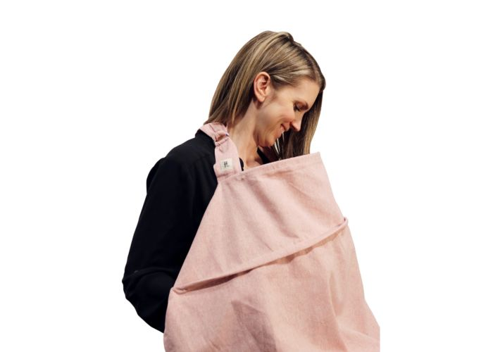 Haven Nursing Cover Blush