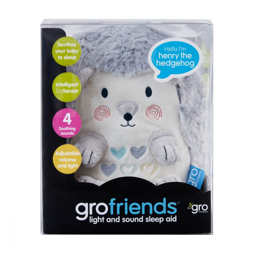Grofriends Henry the Hedgehog Sound&Light