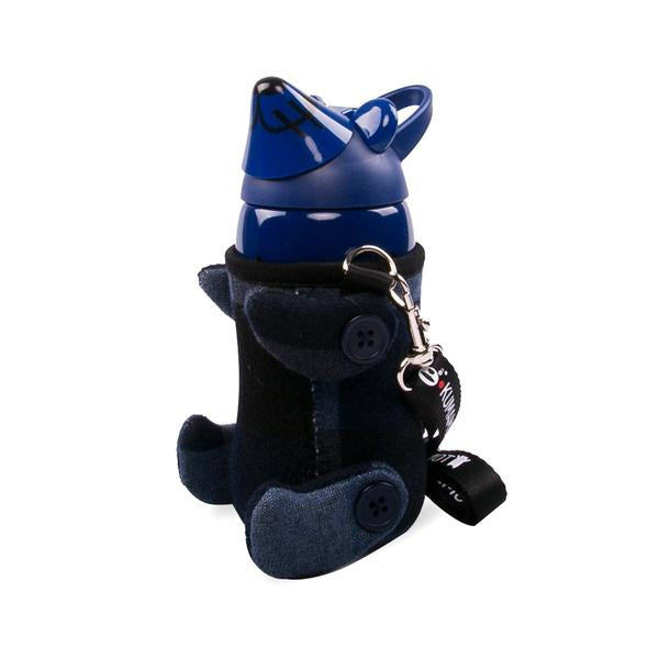 Kumamot Little Bear Water Bottle Blue