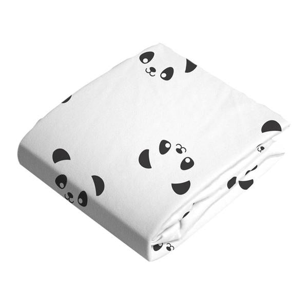 Kushies Flannel Fitted Crib Sheet