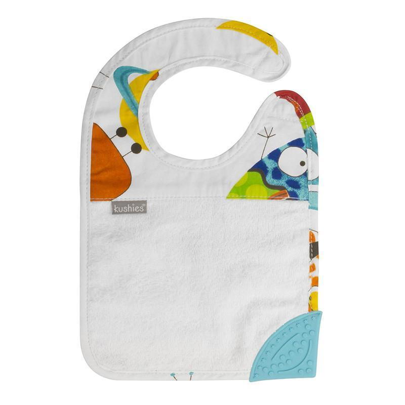 Kushies Silidrool Bib - White - CanaBee Baby