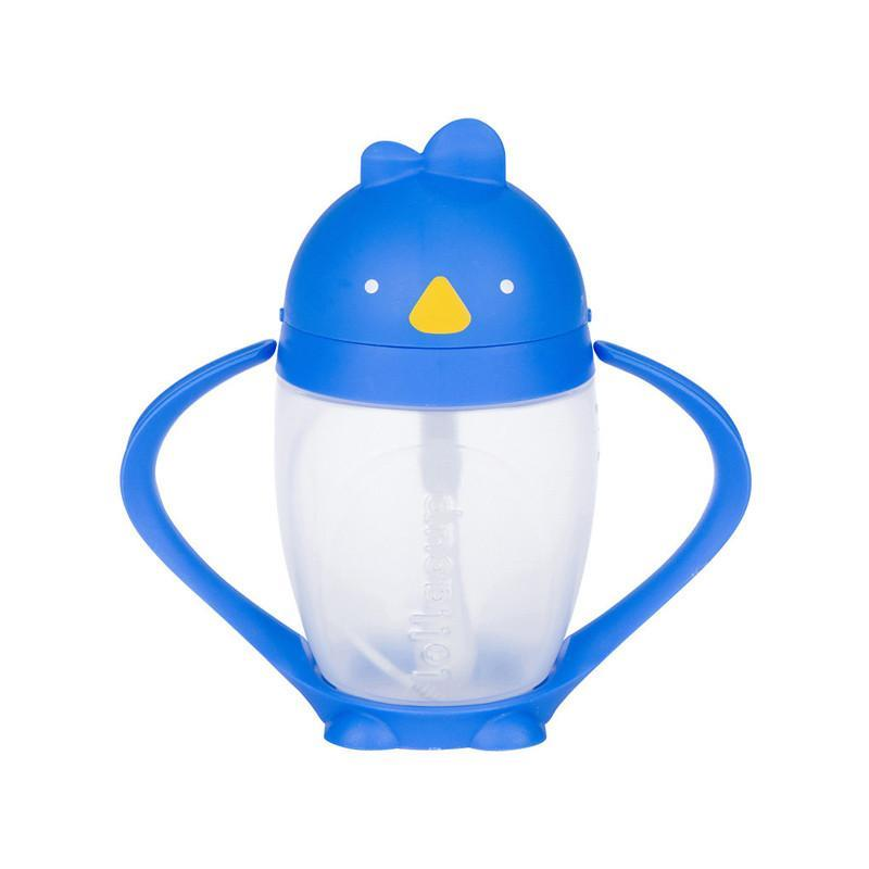 Lollaland Lollacup - Straw Sippy Cup - Blue - CanaBee Baby
