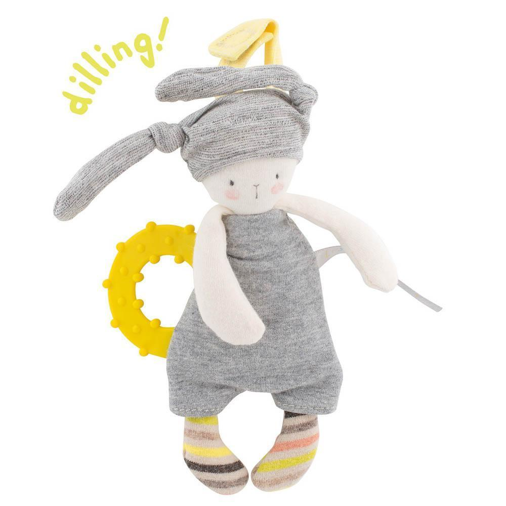 Moulin Roty Petit Dodos - Rabbit Teething Ring