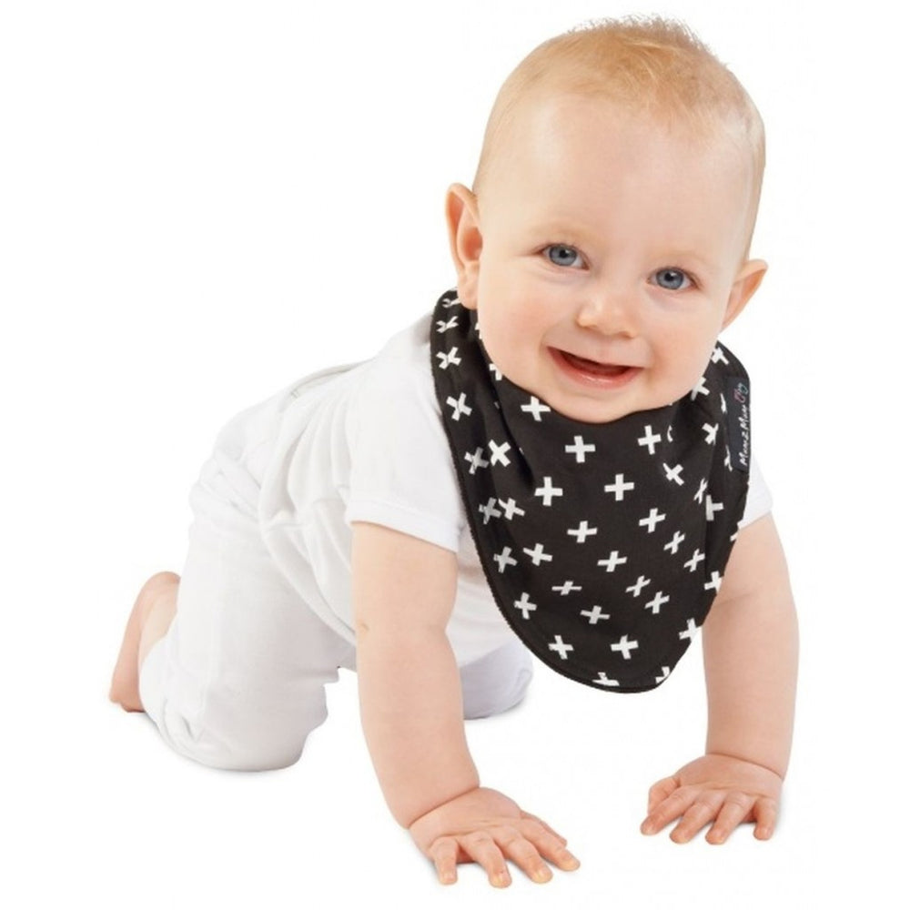 M2m Fashion Bandana Wonder Bib Black Plus