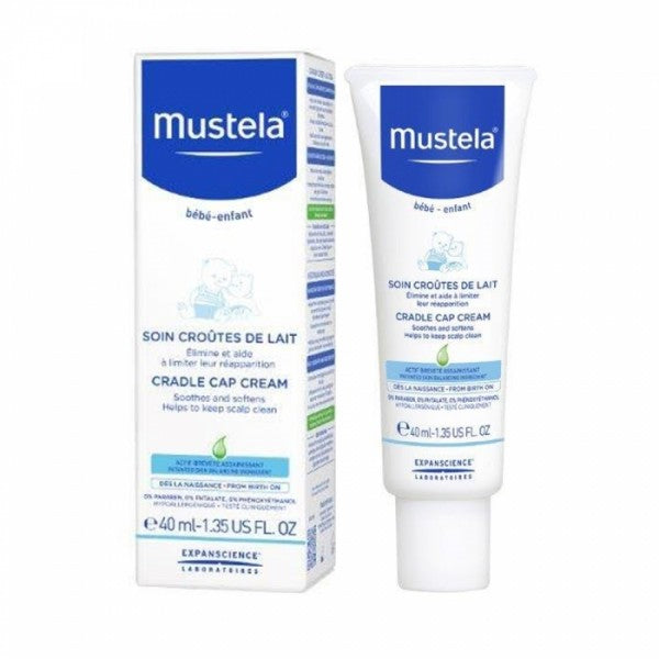 Mustela Cradle Cap Cream 40ml  908703441