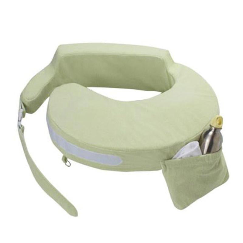My Brest Friend Nursing Pillow Deluxe - Green - CanaBee Baby