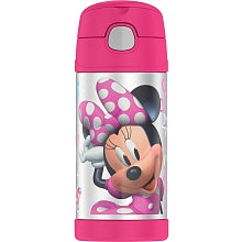 Thermos Funtainer Straw Bottle Minnie Mouse