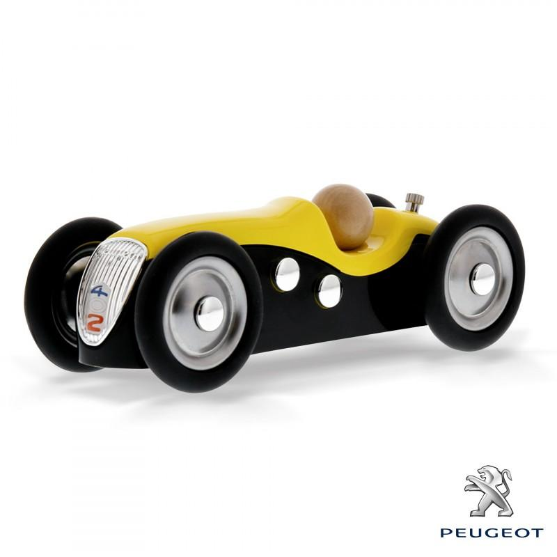 Baghera Mini Metal Peugeot 402 Darl'mat Yellow 462
