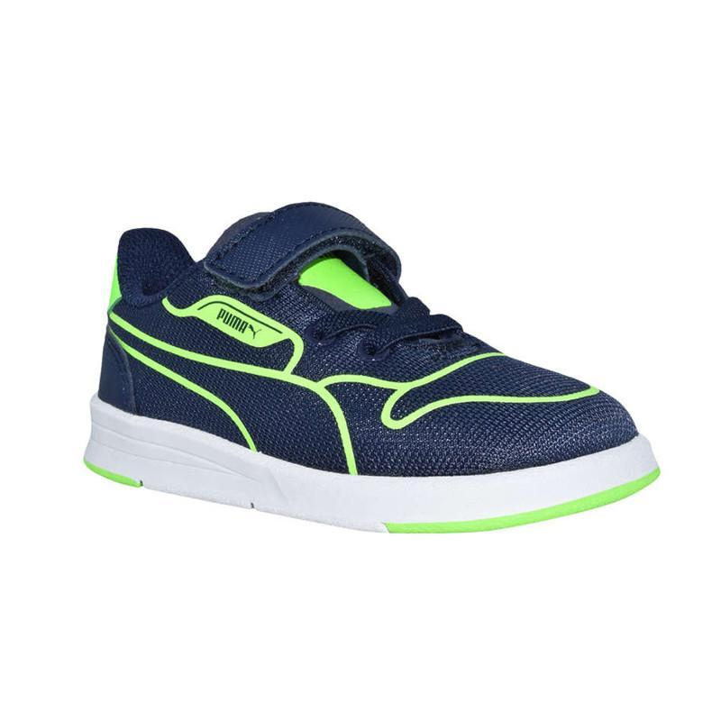 Puma Icra Evo Tech V Kids Peacoat/Green