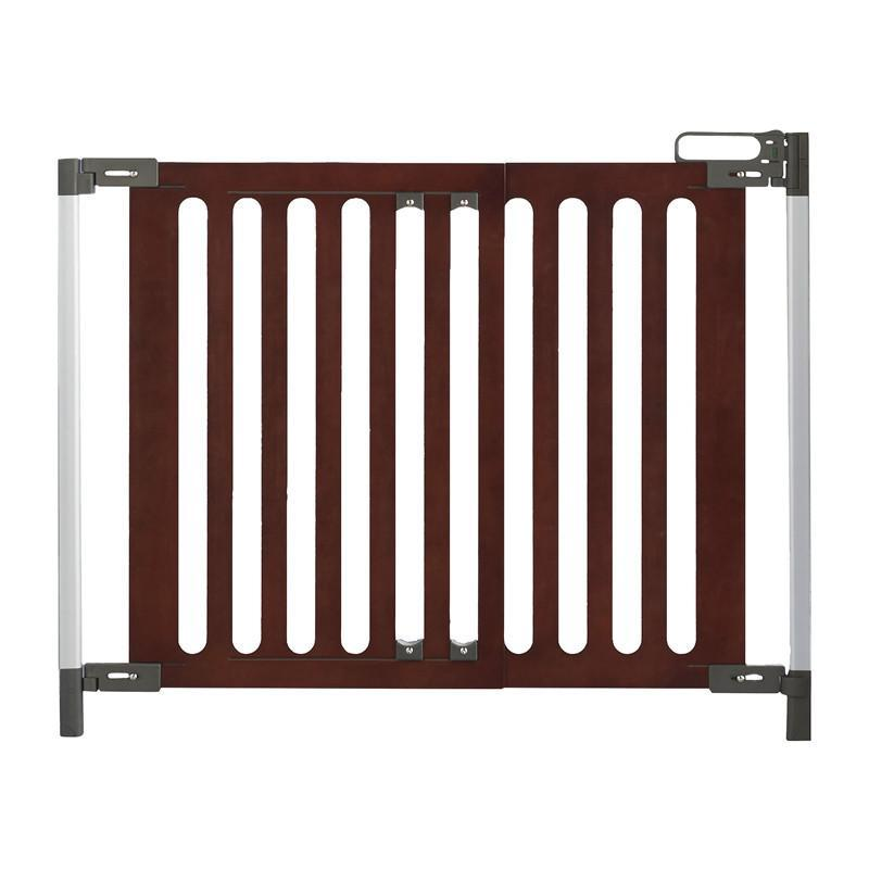 Qdos Spectrum Hardware mounted Gate - Mahogany - CanaBee Baby