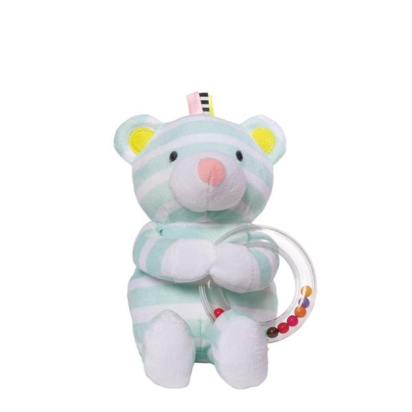 Manhattan Toy Playtime Plush Bear with Rattle