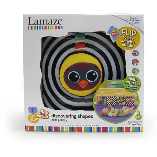 Lamaze Discovering Shapes Crib Gallery