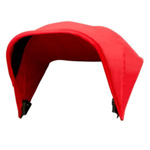 Mountain Buggy Sunhood for Mini stroller - Red