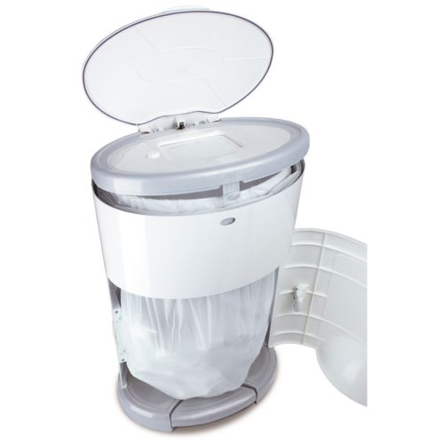 Dekor Plus Diaper Pail - White