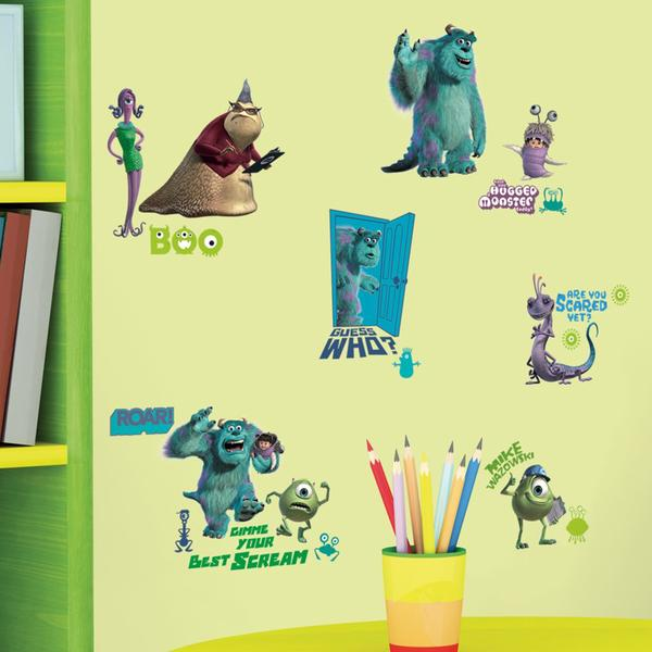 Roommates Monsters Inc Wall Appliques