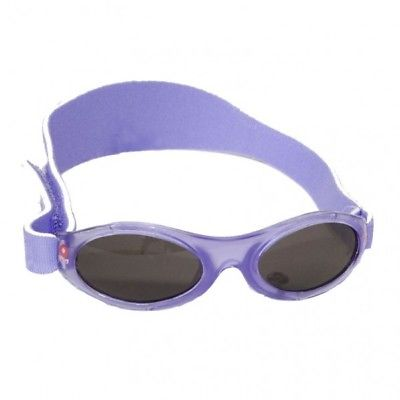 Banz Sunglasses Baby Purple Spring Flower 0-2yrs