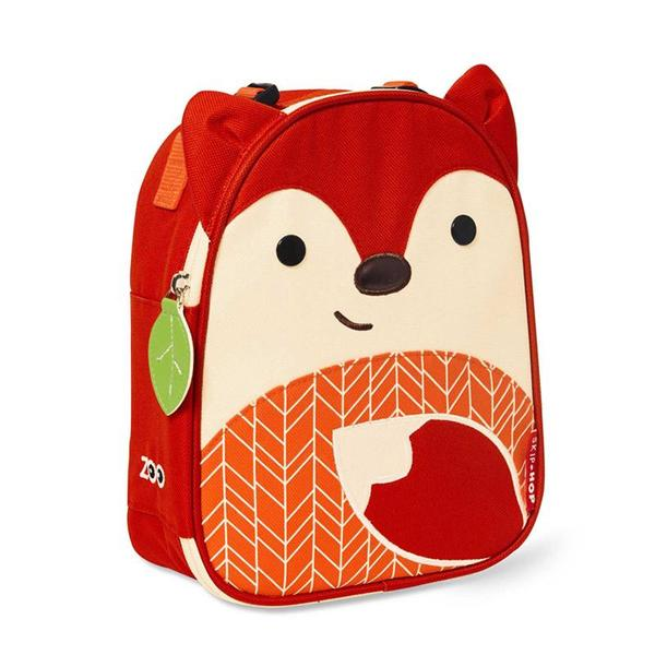 Skip Hop Zoo Lunchie Insulated Lunch Bag - Fox (NEW)