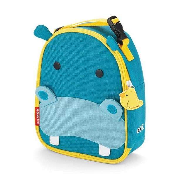 Skip Hop Zoo Lunchie Insulated Lunch Bag - Hippo