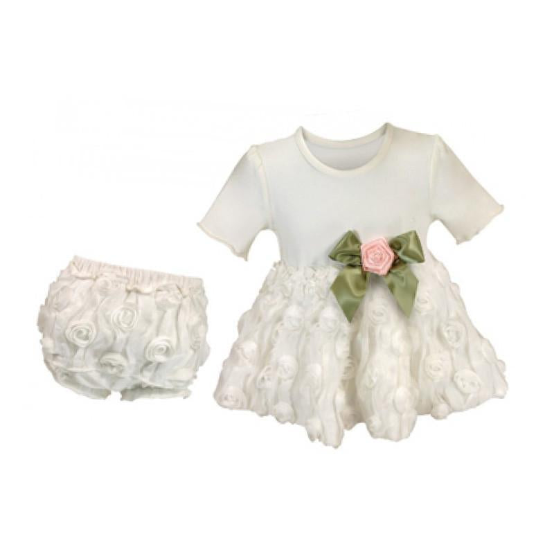 Stephan Baby Girl's Night Out Dress & Bloomers Set 3-6m - CanaBee Baby