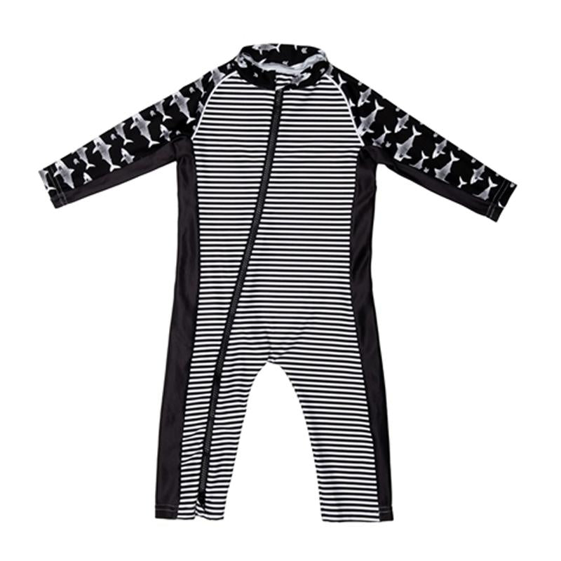 Stonz Infant Sun Suit - Rebel Rebel Black