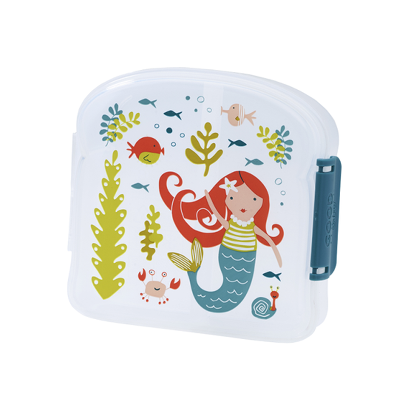 Sugarbooger Good Lunch Sandwich Box -  Isla the Mermaid - CanaBee Baby