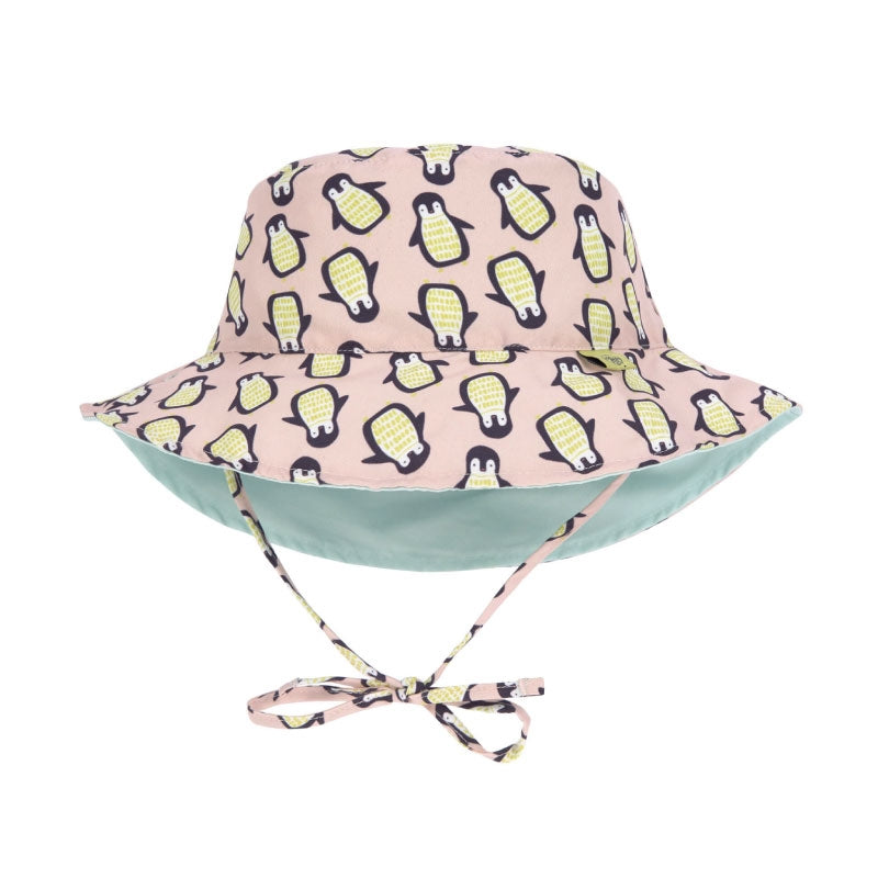 Lassig Sun Protection Bucket Hat Penguin Peach