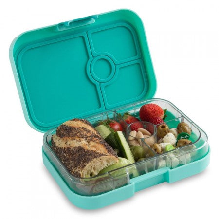 Yumbox Panino Lunch Box 4-compartment - Surf Green