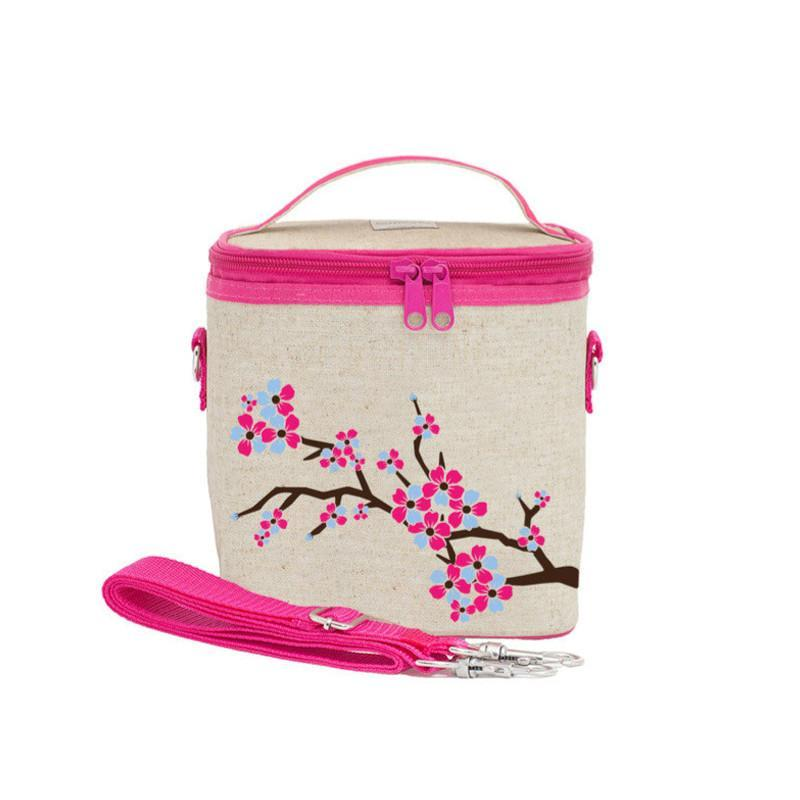 So Young Large Cooler Bag - Cherry Blossom - CanaBee Baby
