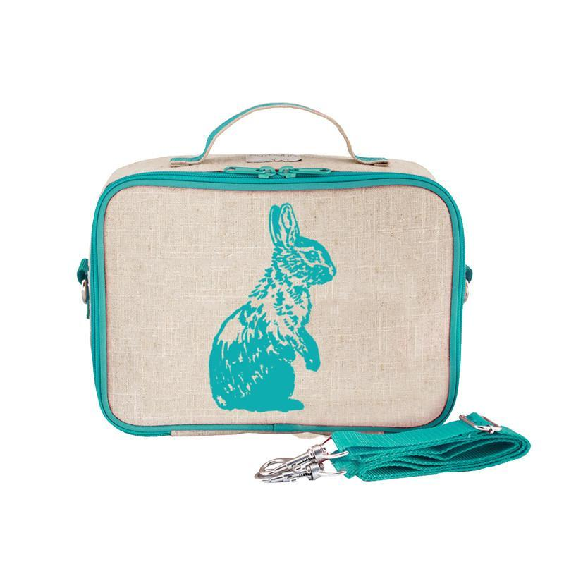 So Young Lunch Box - Aqua Bunny - CanaBee Baby