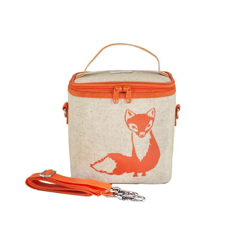 So Young Small Cooler Bag - Orange Fox - CanaBee Baby