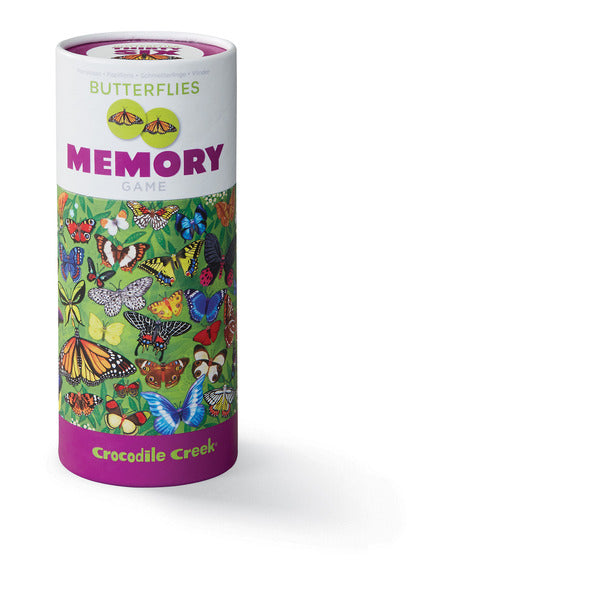 Crocodile Creek Canister Memory Game Butterfly