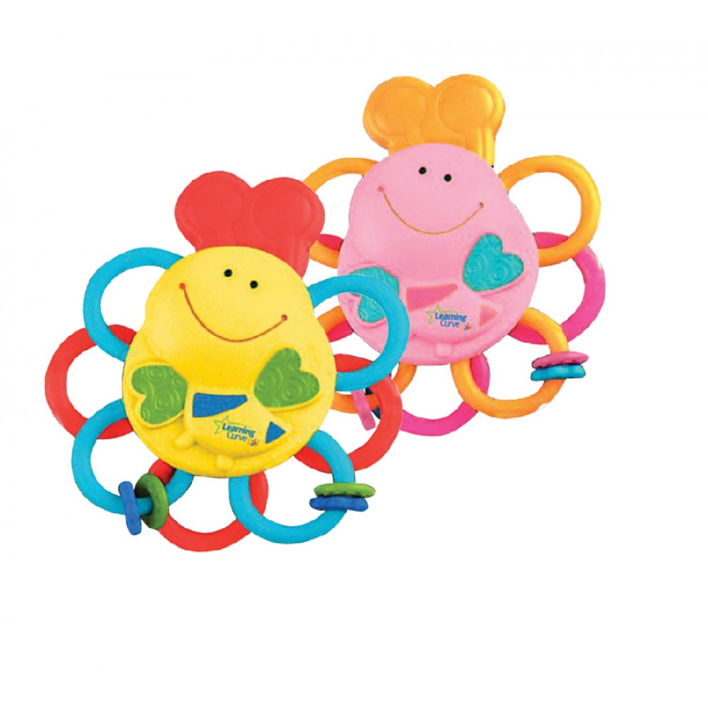 The First Years Massaging Massaging Bee Teether 1pc Assortment