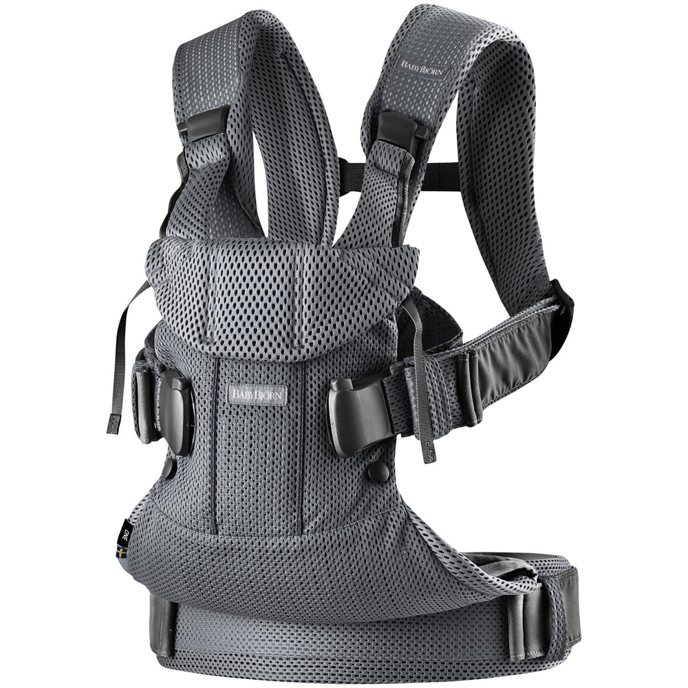 Baby Bjorn Carrier One Air 3D Mesh Anthracite (FREE carrier cover $70 value)