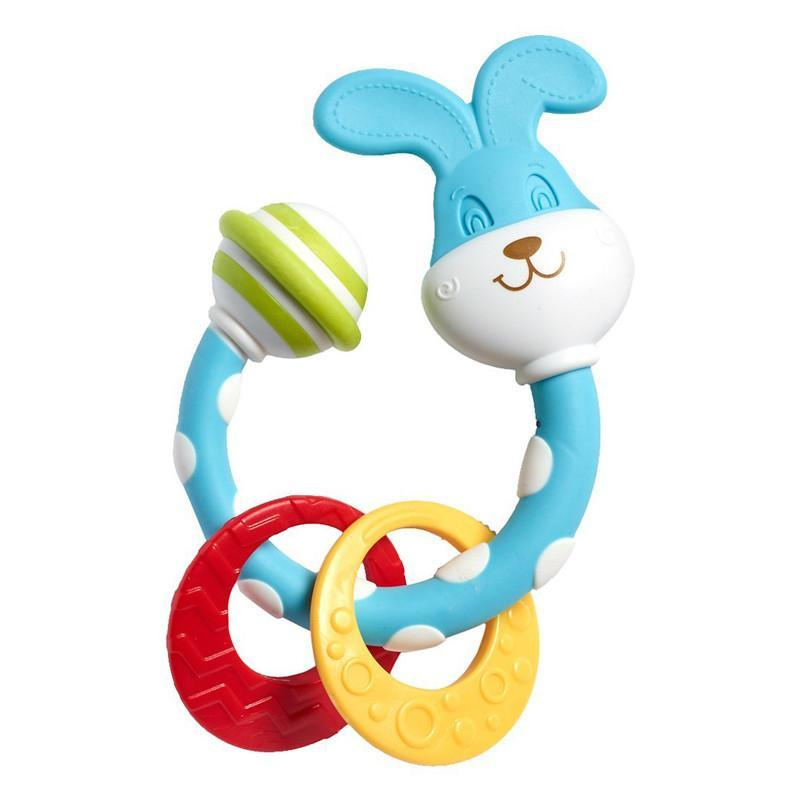 Tiny Love Smarts Teether - Tiny Bunny - CanaBee Baby