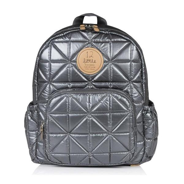 Twelve Little Little Companion Backpack - Pewter