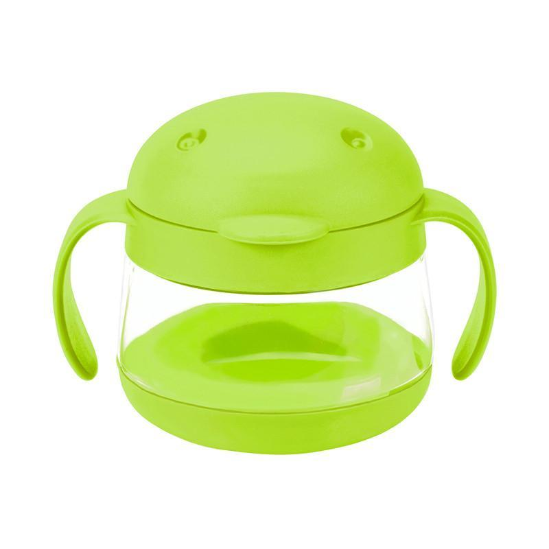Ubbi Tweat Snack Container - Green - CanaBee Baby