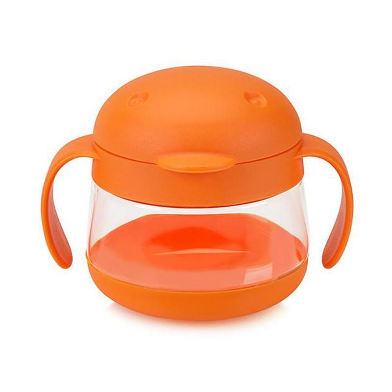 Ubbi Tweat Snack Container - Orange - CanaBee Baby