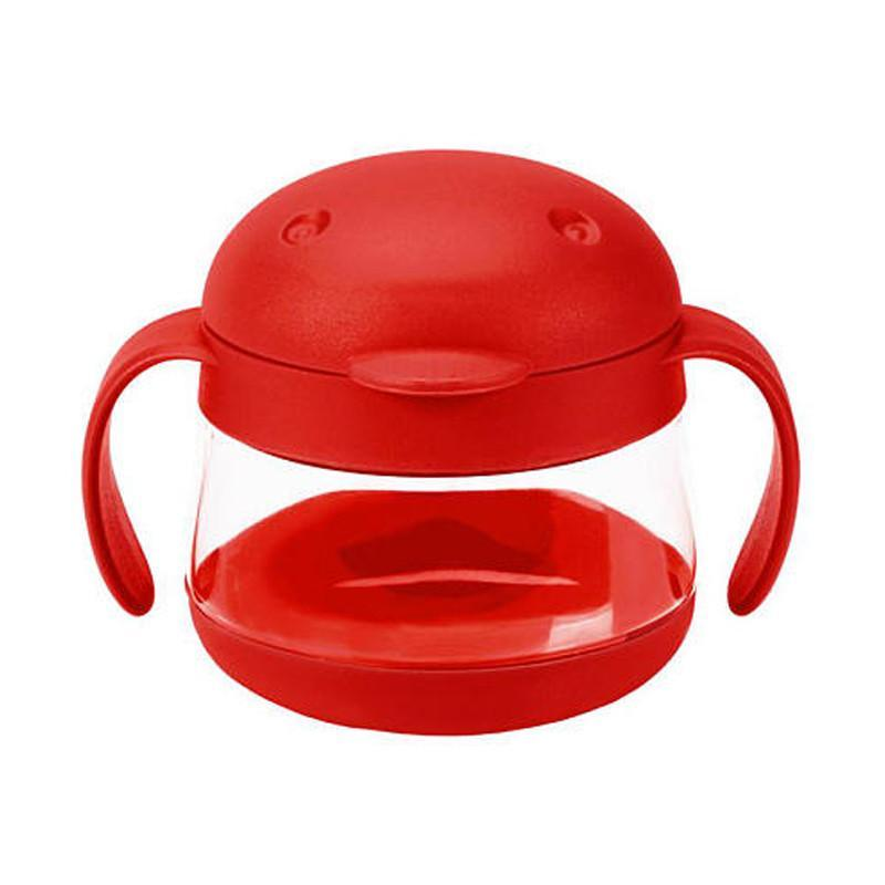 Ubbi Tweat Snack Container - Red - CanaBee Baby